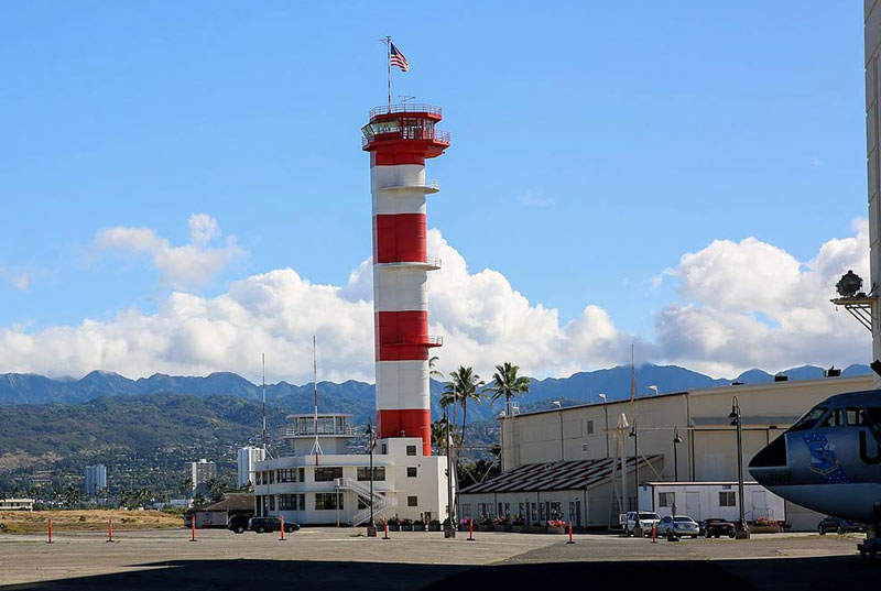 Tower of the Pacific Aviation Museum