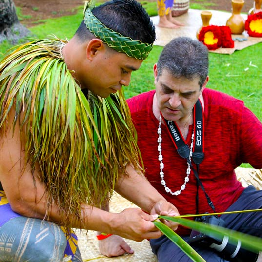 Learn Polynesian Arts and Crafts