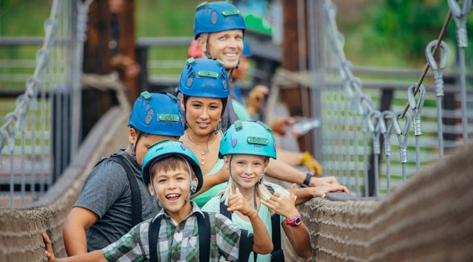 Great Zipline for ALL ages