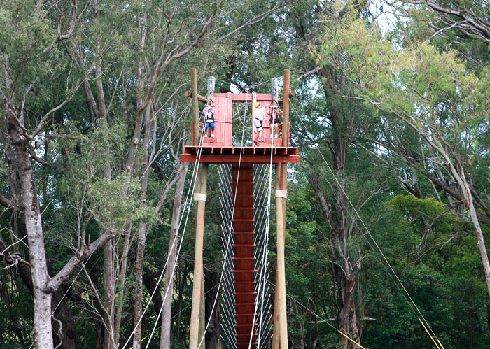 Overcoming the fear of heights!